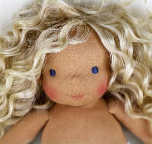 Waldorf Doll Wig 92