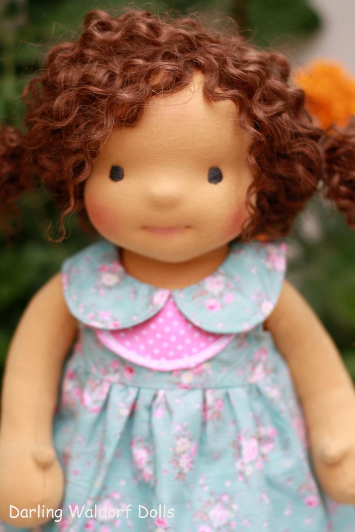 Reserved for lisa 1 waldorf doll niki 18 quot darling waldorf dolls