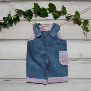 Waldorf doll clothes- Overalls for 18″-20′