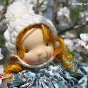 Darling Danae and Snowdrops