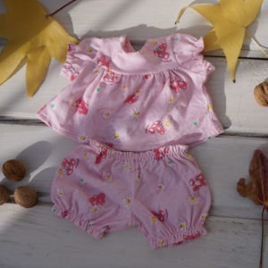 "Pajamas for 14-16"" Waldorf dolls"