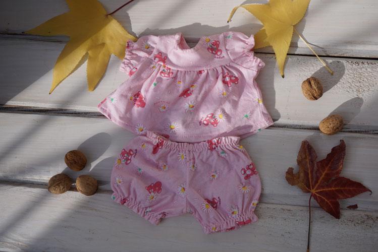 Pajamas for 14-16″ Waldorf dolls 1