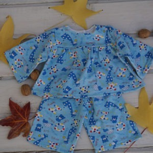 "Pajamas for 15-18"" Waldorf doll Clothes, Christmas Gifts for Children"