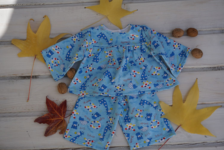 Pajamas for 15-18″ Waldorf doll Clothes, Christmas Gifts for Children 1