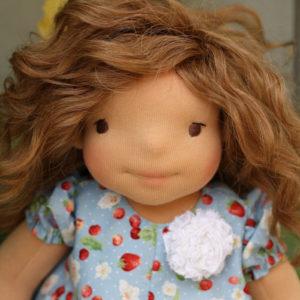 "Waldorf doll Poppy 18"""