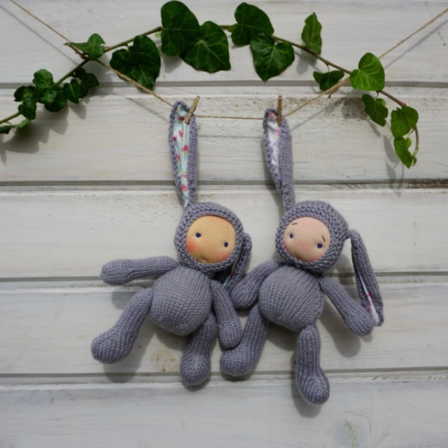 Waldorf doll Bunny 9″ 1