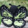 Green Monarch Butterfly
