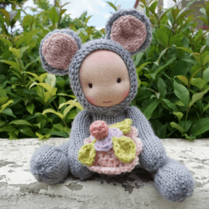 Waldorf doll Mouse 9""
