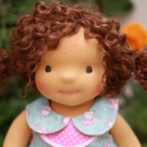 Reserved for Lisa 1 Waldorf doll Niki 18""