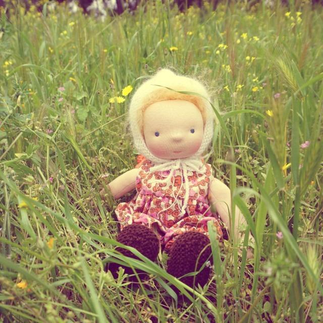 Waldorf doll Fleur 14″ 1