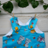 """Waldorf doll clothes - Overalls for 18""""-19"""""""